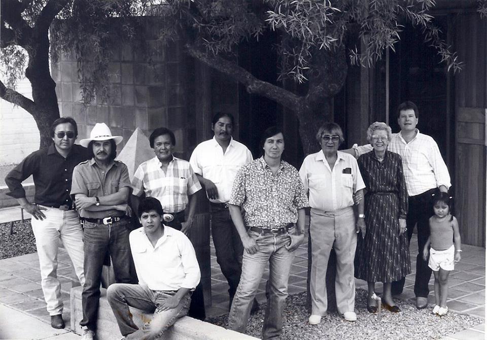 Native American Artists in Scottsdale AZ 1987