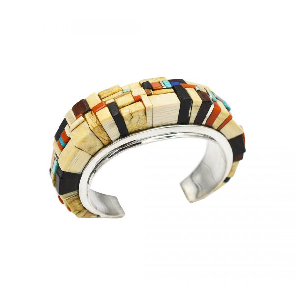 Stacked sterling silver bracelet
