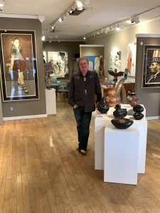 Bill Faust of Faust Gallery