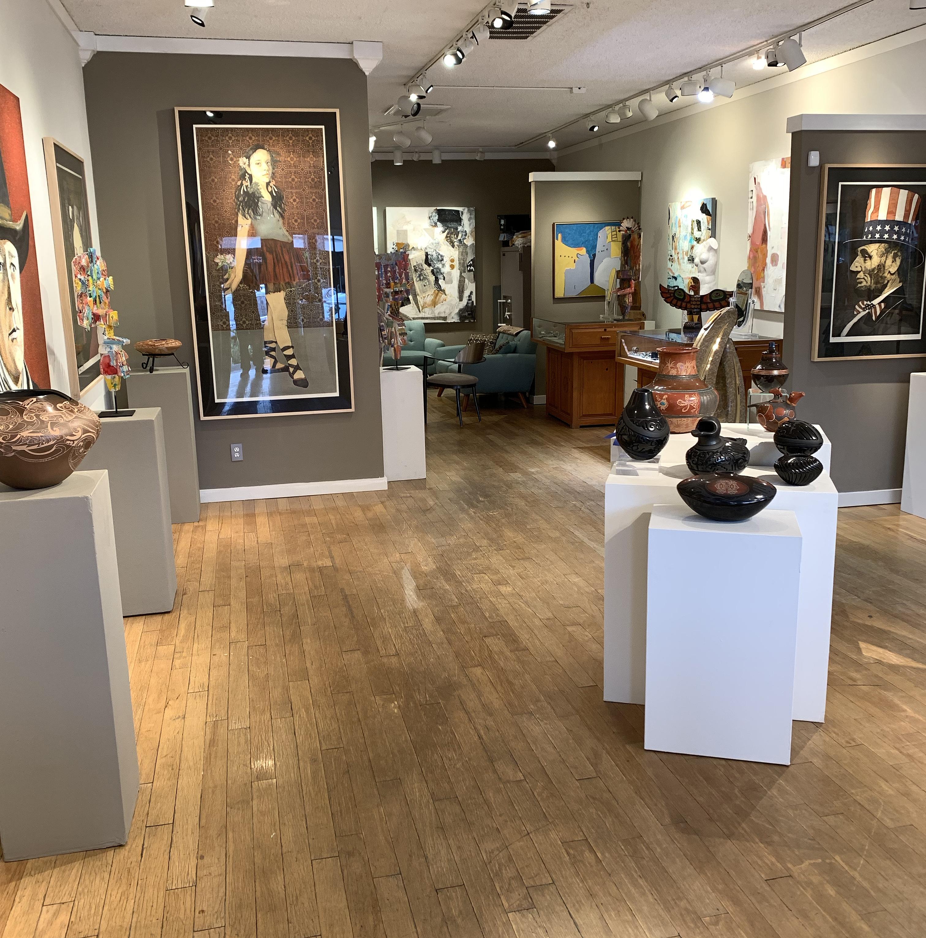 Native American Indian Art Gallery In Santa Fe Nm Faust