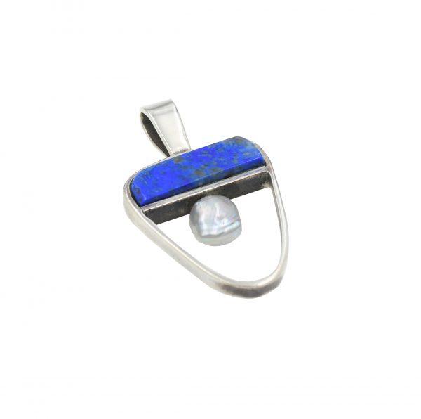 Sterling silver Hopi pendant