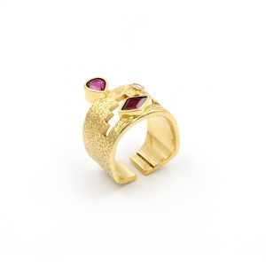 18k Gold Ring BY JAMES LITTLE