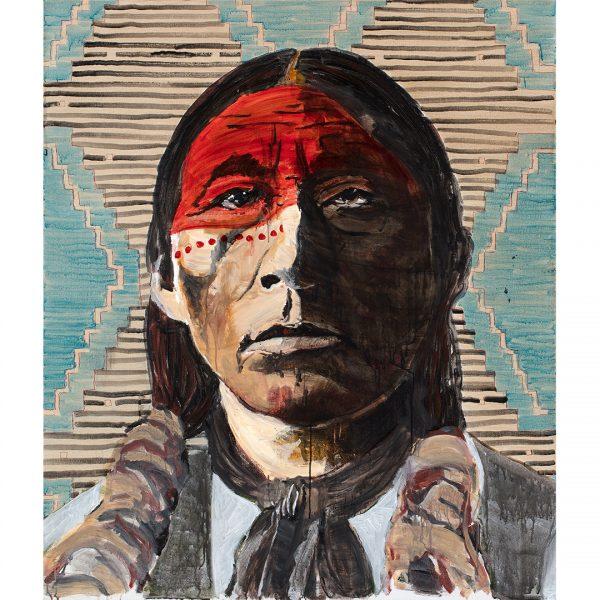 Native American Paintings in Santa Fe